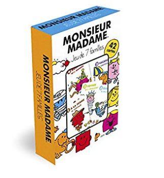 Monsieur Madame Card Game